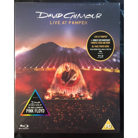 Bluray David Gilmour - Live At Pompeii Lacrado Importado