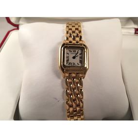 Cartier Mini Pantera De Oro, Para Dama,quartz