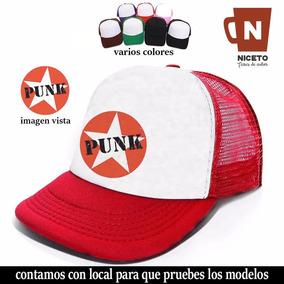 Ramones Gorra Trucker Diseño Y Calidad Niceto Modelo Seis b97dcb1b227