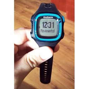 Relógio Monitor Cardíaco Gps Forerunner 15 Azul - Garmin