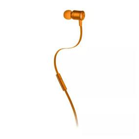 Fone De Ouvido Auricular Earphone Neon Pulse Laranja Ph190