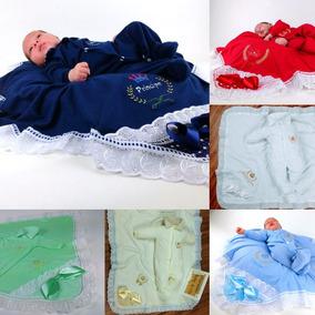 Kits 6 Saídas Maternidade Bebe 2 Peças Promoção Total 12 Pçs