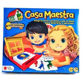 Casa Maestra Top Toys Dde 4 Anos Aprende Jugando Juegos De Mesa