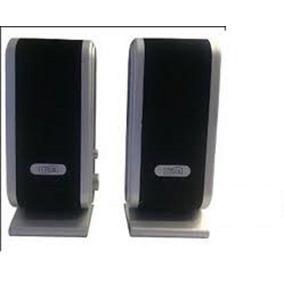 Cornetas Negra Plata Plug 3.5 Computador Cidsu Equiprogram