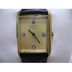 Reloj Wittnauer Geneve Suizo De Cuerda Vintage Stilo Tank