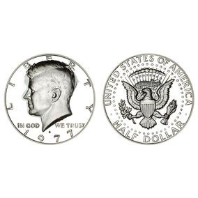 Moeda Us 0,50 Cents (half Dollar)