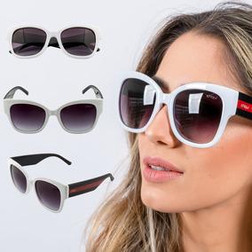 Óculos De Sol Redondo Estilo Gatinho Moda Gatinha Preto - Óculos no ... 1482ef3d2b