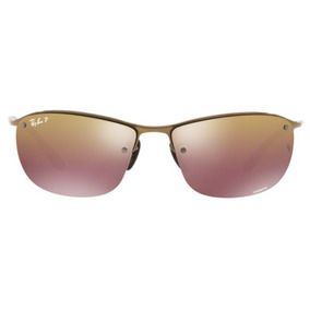 Óculos De Sol Ray Ban Rb3542 Marrom Lente Polarizada Espelh b92678aae8