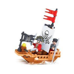 Brinquedo Barco Pirata P/ Montar 66