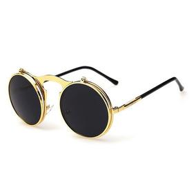 d5d47f31f0e8a Óculos Vintage Lente Dupla De Sol - Óculos no Mercado Livre Brasil