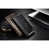 Capa Case Flip Carteira Galaxy S7 Flat Couro Luxo