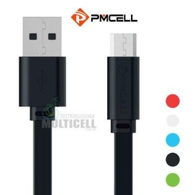 Cabo Usb Flat Pmcell Solid-988 988 Entrada Micro Usb V8 1mt