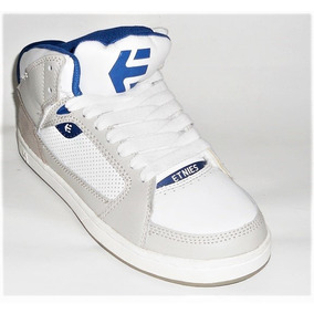 Tênis Etnies Uptown Grey/white/royal Skate Shoes