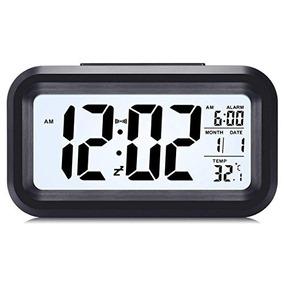 Despertador Digital Con Fecha, Lcd Reloj De L