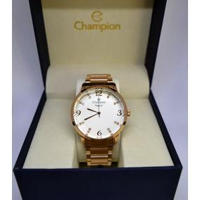 Relógio Champion Feminino Rosê Cn25556z Lançamento