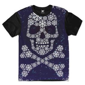 Camiseta Caveira Mexicana Frozen Gelo Man Moda Ydias N14 ee7c1f0e394