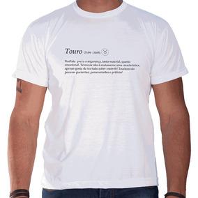 Camiseta Masculina Sandro Clothing Signo Touro Branca