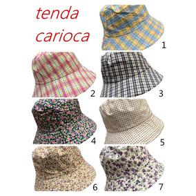 Chapéu Bucket Hat Florido Estampadinho Chapeu Balde Cataovo 616e7e31eb4