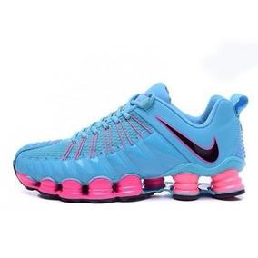 306cf6357b5 Nike Shox 12 Molas - Nike para Masculino Cíano no Mercado Livre Brasil