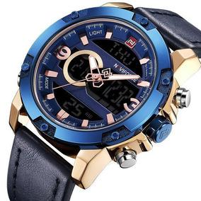 4baa5cc4f3 Reloj Hombre Naviforce D Carreras, Digital Y Análogo Nf9097b