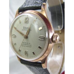 43935cd781f Relógio Titanic P U W 60 1952 Swiss W. Germany Relogiodovovô