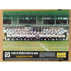 Pôsteres Do Vasco - Campeão Carioca E Libertadores 1998