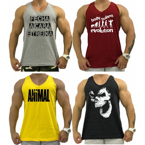 4 Regata Cavada, Camisa Camiseta Nadador Academia Musculação