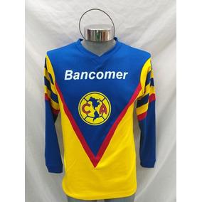 Quiero Cid Club América 90s Alfredo Tena Manga Larga 474142edd89cd
