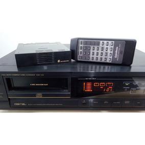 Compact Disc Player Gradiente Cdc 3.0 Perfeito Veja O Video