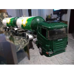 Conjunto Glp Bitrem Scania R420 Escala 1:50 Harpy = Arpra