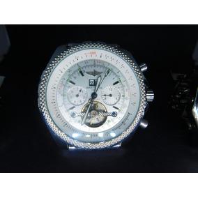 842d3a3fdf1 Lindo Relogio Breitling Bentley Branco - Relógios no Mercado Livre ...