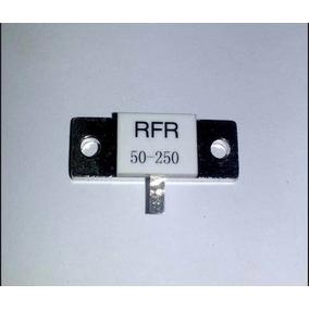 Resistor 50 Ohms X 250 W Carga Fantasma Dummy Load Novo