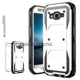 Samsung Galaxy J1 J120 (2016) - White - Resistente Resi-8914