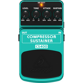 Pedal Behringer P/ Guitarra Cs400 Compressor Sustainer
