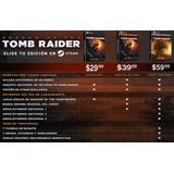 Shadow Of The Tomb Raider Pc (preventa - Steam Key)