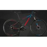 Bicicleta Groove Hype 50 2018 Mtb 29 Shimano 24v Preta Tam17
