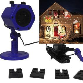 Projetor Led Holografico Natal Natalino Jardim Casa Festa
