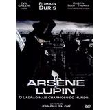 Dvd Arsene Lupin- Eva Green- Raro - Original- Novo - Lacrado