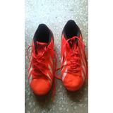 Zapatos Adida De Taco Para Futbol Talla 36 1/2 Anaranjados