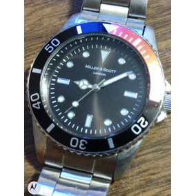 Reloj Tipo Submariner Miller & Scott London Acero