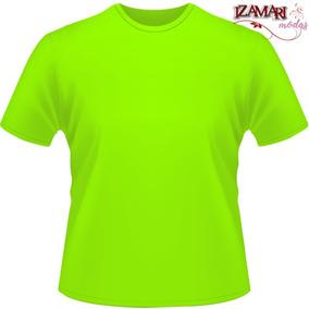 0199e71817ab8 Camiseta Dry Fit Verde Limao - Calçados