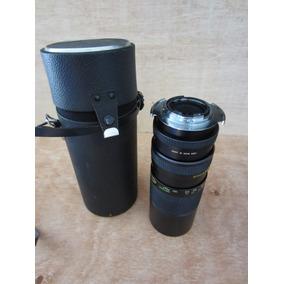 Lente Vivitar Auto Zoom 100-300 062mm 1:5