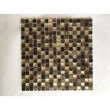 Mallas Decorativas 29x30 Cm Cristal, Piedra Ahumada Y Metal