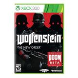 Wolfenstein The New Order Xbox360 Disco Videojuego Sellado