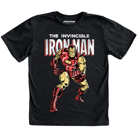 Playera Niño Iron Man Marvel Comics The Avengers