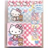 Bloco De Papel De Carta Sanrio 2014 Hello Kitty Rosa E Azul
