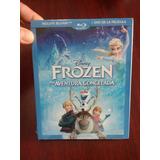 Disney Frozen Una Aventura Congelada En Blu-ray + Dvd