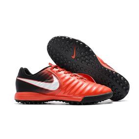74c4628d24 Chuteira Nike Tiempo Rio Tf Vermelha - Chuteiras de Campo para ...