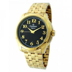 Relógio Champion Elegance Feminino Cn27572u Dourado