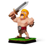 Supercell Clash Royale Clash Of Clans Figura Bárbara Cole...